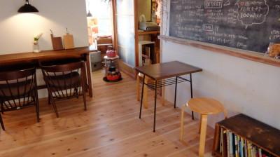 喫茶のお気に入りの机