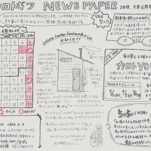 NEWS PAPER 5月6月