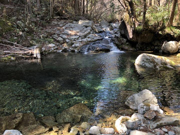渓流キャンプ
