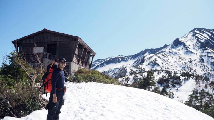 雪山登山へ